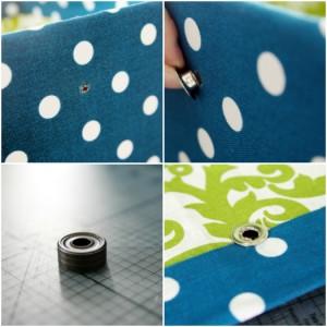 passo a passo organizador caixa papelão forrado tecido casa guardar roupas brinquedos 9