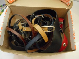 passo a passo organizador cintos dica organizacao quarto guarda roupa caixa de sapato reciclagem 1