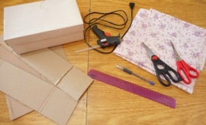 passo a passo organizador cintos dica organizacao quarto guarda roupa caixa de sapato reciclagem 2