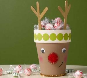 15 ideias criativas reciclagem pote iogurte 4