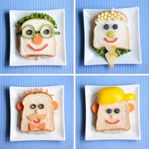 8 ideia comidinhas sanduiches divertidos criancas alimentacao saudavel comer frutas legumes
