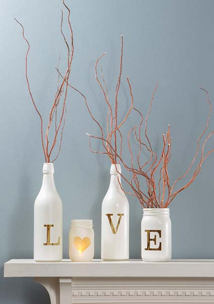 decoracao casa garrafa vidro reciclagem 001