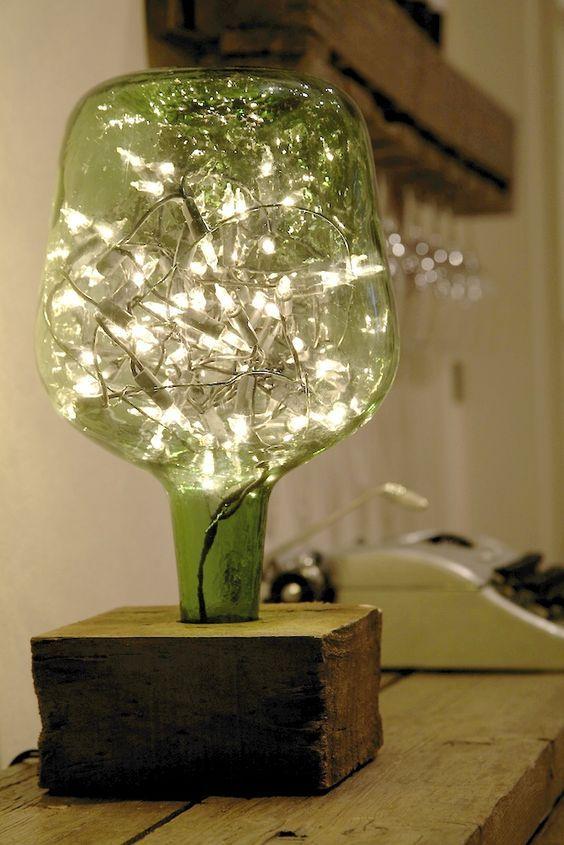 decoracao casa garrafa vidro reciclagem 007