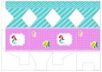Kit digital pequena sereia ariel festa personalizados aniversario menina lembrancinhas rotulos caixinha personalizada Caixa meia bala