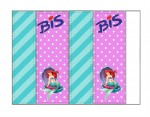 Kit digital pequena sereia ariel festa personalizados aniversario menina lembrancinhas rotulos caixinha personalizada bis