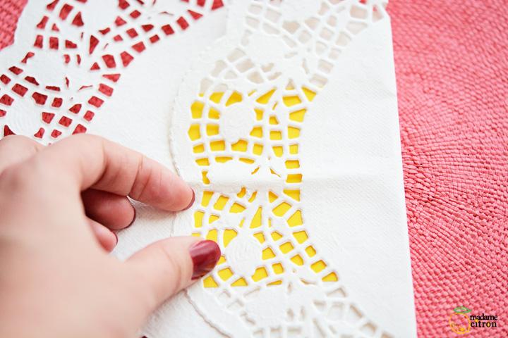 como fazer cestinha papel doilies toalhinha rendada decoracao festa aniversario casamento batizado 3