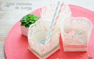 como fazer cestinha papel doilies toalhinha rendada decoracao festa aniversario casamento batizado 8