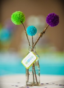 como fazer pompom decoracao casa festa lembrancinha aniversario kids 8