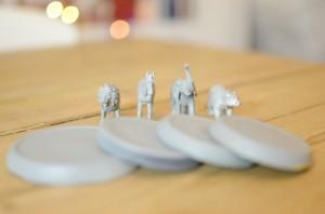 como fazer pote vidro decorado animais decoracao casa 4