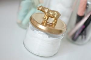 como fazer pote vidro decorado animais decoracao casa 7