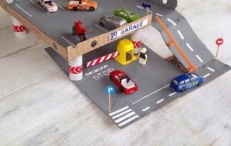 faca voce mesmo brinquedo reciclado criancas pista carrinhos meninos