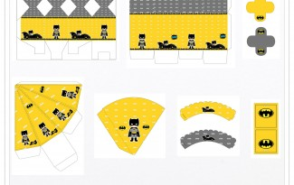 Kit digital batman festa personalizados aniversario menino lembrancinhas rotulos caixinha personalizada