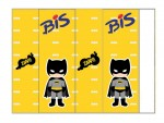 Kit digital batman festa personalizados aniversario menino lembrancinhas rotulos caixinha personalizada Bis