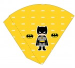 Kit digital batman festa personalizados aniversario menino lembrancinhas rotulos caixinha personalizada Cone