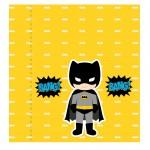 Kit digital batman festa personalizados aniversario menino lembrancinhas rotulos caixinha personalizada batom