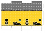 Kit digital batman festa personalizados aniversario menino lembrancinhas rotulos caixinha personalizada caixa milk