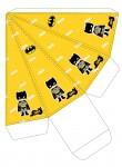 Kit digital batman festa personalizados aniversario menino lembrancinhas rotulos caixinha personalizada caixa piramide