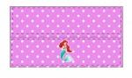 Kit digital pequena sereia ariel festa personalizados aniversario menina lembrancinhas rotulos caixinha personalizada Lapela