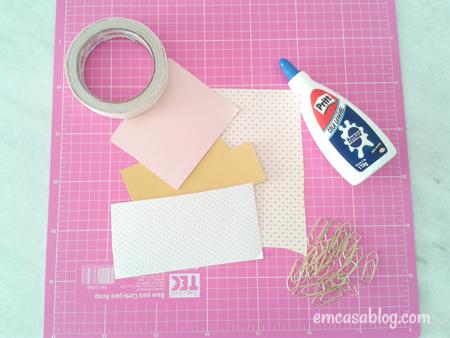 como fazer clip decorado laco papelaria volta as aulas decoracao caderno escolar 3