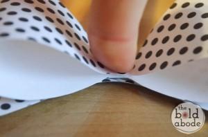 como fazer laco papel lembrancinha sacolinha presentes aniversario 2