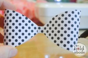 como fazer laco papel lembrancinha sacolinha presentes aniversario 3