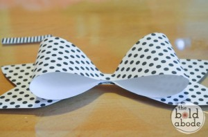 como fazer laco papel lembrancinha sacolinha presentes aniversario 4