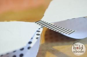 como fazer laco papel lembrancinha sacolinha presentes aniversario 5