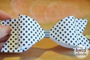 como fazer laco papel lembrancinha sacolinha presentes aniversario 6