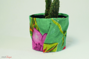como fazer vaso plantas decorado chita decoracao casa faca voce mesmo 7
