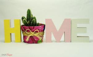 como fazer vaso plantas decorado chita decoracao casa faca voce mesmo 9