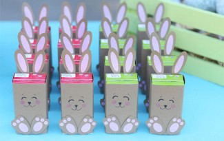 modelo lembrancinha coelhinho pascoa ovinho pascoa bombom feita papel criancas escola 4