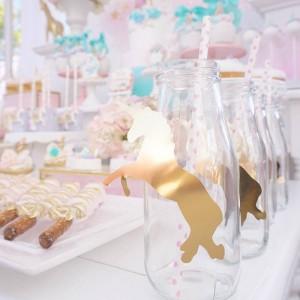 15 ideias decoracao festa aniversario unicornio festa infantil meninas 11