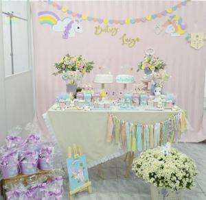 15 ideias decoracao festa aniversario unicornio festa infantil meninas 15