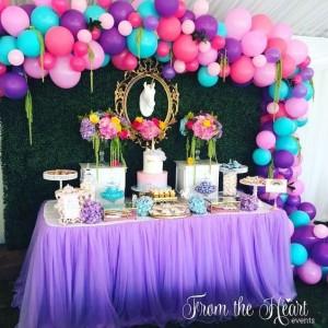15 ideias decoracao festa aniversario unicornio festa infantil meninas 3