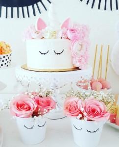 15 ideias decoracao festa aniversario unicornio festa infantil meninas 4