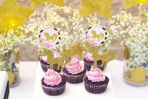 15 ideias decoracao festa aniversario unicornio festa infantil meninas 6