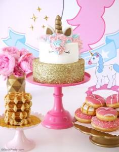 15 ideias decoracao festa aniversario unicornio festa infantil meninas 7