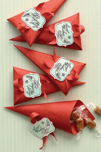 6 ideias lembrancinha porta guloseimas festa aniversario cha bebe batizado feito de papel 3