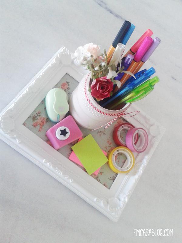 como fazer bandeja porta retrato decoracao casa quarto escritorio cozinha faca voce mesma 1