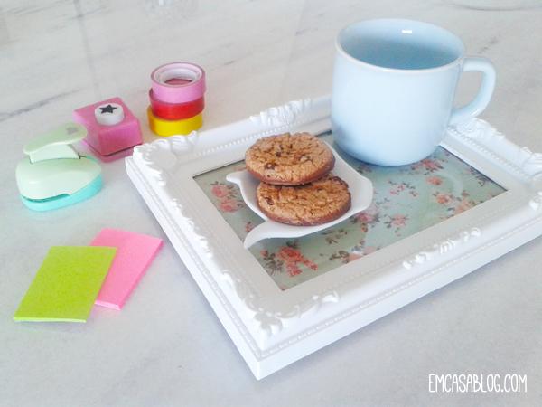 como fazer bandeja porta retrato decoracao casa quarto escritorio cozinha faca voce mesma