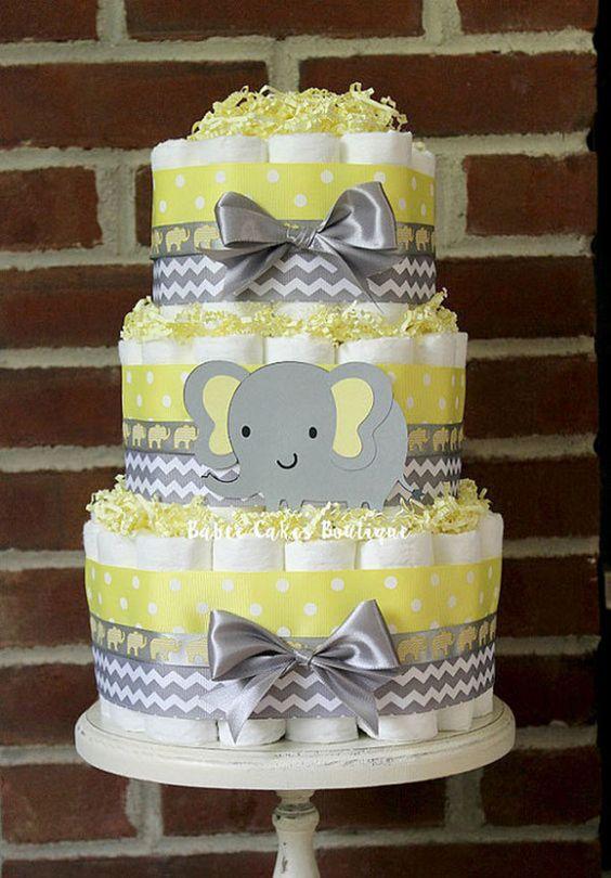 Maternidade Decorao para Ch de Beb do Elefantinho