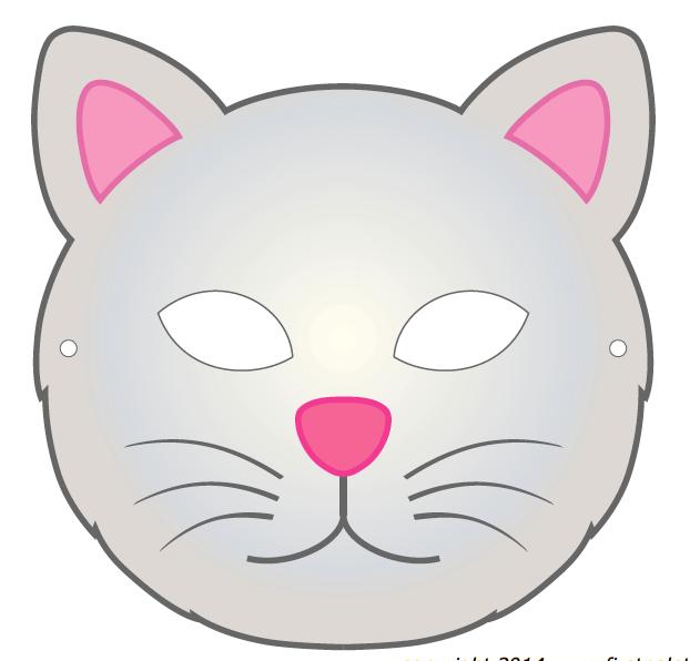 6 Modelos De Máscaras De Animais Para As Crianças Painel Criativo